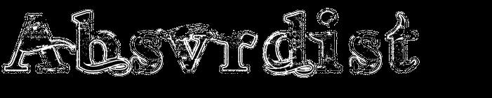 Absvrdist logo