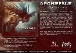 APOKEFALE promo flyer