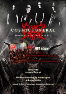 Cosmic Funeral Flyer