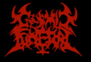 Cosmic Funeral logo (red)