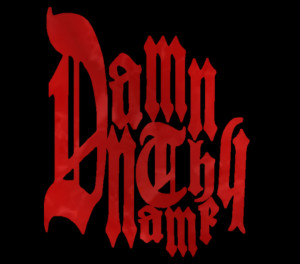 Damn Thy Name Logo Red