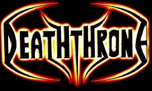 Death Throne logo feu