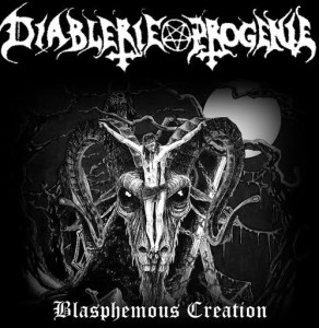 Diablerie Progenie - Blasphemous Creation cover