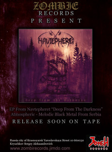 Navtepheret - ZOMBIE RECORDS FLAYER