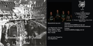 Neverchrist - latinoamerican elite of antinazi black metal 2007