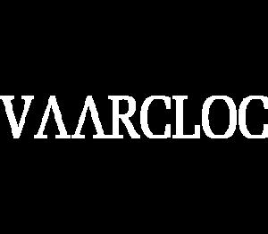 Vaarcloc white logo