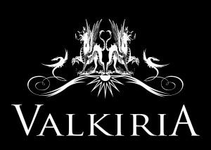Valkiria logo white