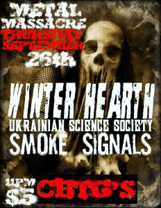 Winterhearth - Sept. 26, 2013